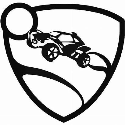 Rocket League Decal Coloring Sticker Decals Drawing