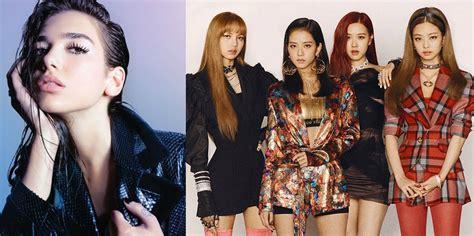 Dua Lipa Announces Collaboration With K-pop Group Blackpink
