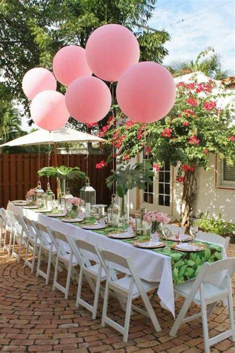 decoration table anniversaire  propositions pour lete