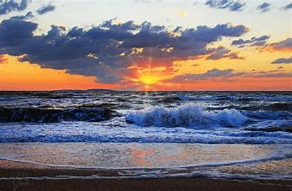 Sunrise Sunset Nascer Sol Gifs Dreamies Sunsets