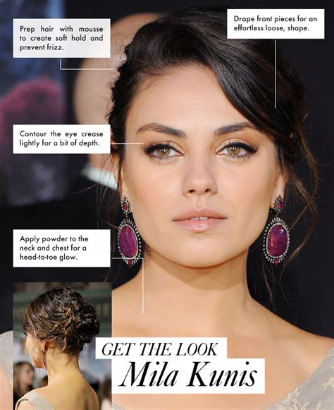 Get Mila Kunis Oz Premiere Hair And Makeup Stylecaster