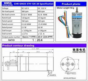 Chihaimotor Chr  12v Magnetic Holzer