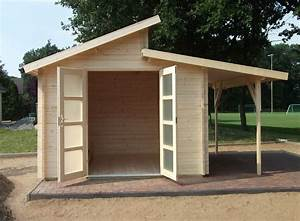 Gartenhaus Mit Schuppen : naturholz pultdach gartenhaus gartenhaus mit pultdach ~ Michelbontemps.com Haus und Dekorationen