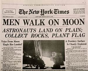 Apollo 11 Newspaper Headline (page 3) - Pics about space