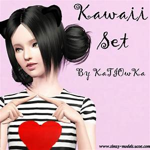 Empire Sims 3: Kawaii Pose Set by KaTIOwKa