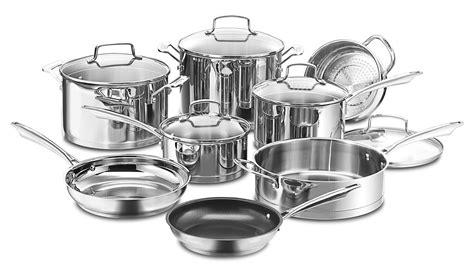 professional  piece stainless steel cookware set reviews joss main