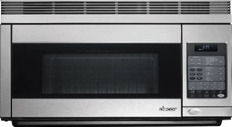 built in microwave ovens with exhaust fan dacor pcor30s 1 1 cu ft over the range convection