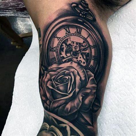 resultado de imagen  tatuajes de relojes antiguos de