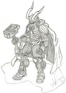 Anime Demon Armor Drawings