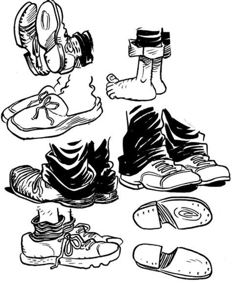 draw cartoon feet shoes  drawing comics