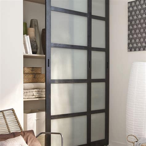 portes de placard cuisine lot de 2 portes de placard coulissantes wengé 250x153cm