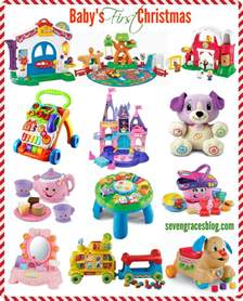seven graces best gifts for baby s first christmas