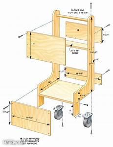Woodwork Build air compressor cart Plans PDF Download Free