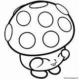 Shopkins Coloring Mushy Miss Moo Mushroom Season Printable 1s Limited Edition Kawaii Kleurplaten Mushrooms Colorings Fungi Scribblefun Getcolorings Bord Kiezen sketch template