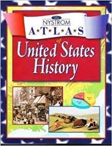 amazon com the nystrom atlas of united states history