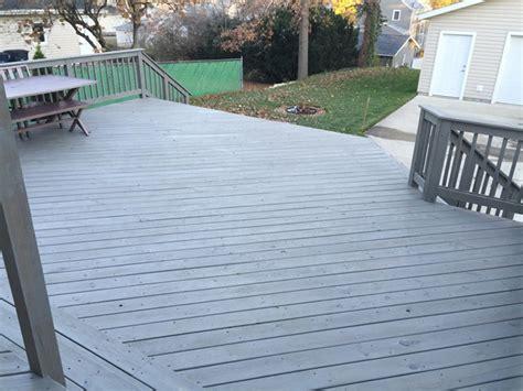 staining  deck  wrong danks  honey