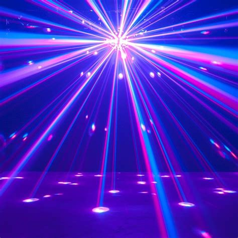 Disco Lights by Adj Starburst Disco Effect Light With 5 6 In 1 Rgbwyk Led