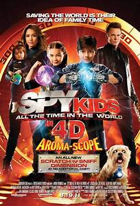 Spy Kids: All the Time in the World movie large poster.