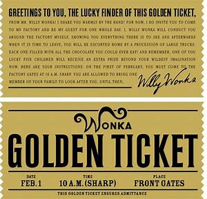 best 25 golden ticket ideas on pinterest pay my ticket With golden ticket template editable