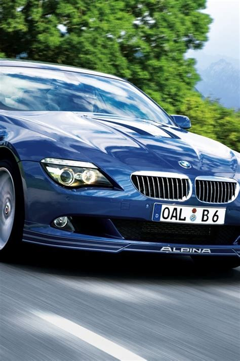 Alpina Bmw Blaue Autos Wallpaper Allwallpaper
