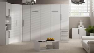 Kleiderschrank Weiß 200 Cm : wandbett schrankbett 50 w 4 140 x 200 cm mit kleiderschrank wei ~ Bigdaddyawards.com Haus und Dekorationen