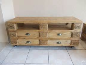 meuble tv et table basse en palette home sweet home tvs et tables