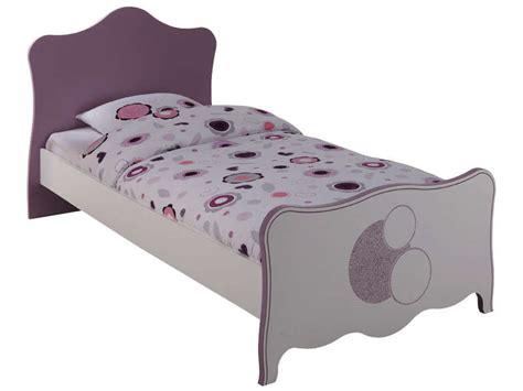 lit 90x190 cm elisa vente de lit enfant conforama