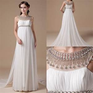 2016 empire maternity wedding dresses real photos With wedding dresses for pregnant brides