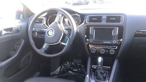 jetta sel titan black interior youtube