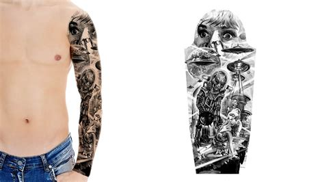 select  tattoo sleeve design custom tattoo design