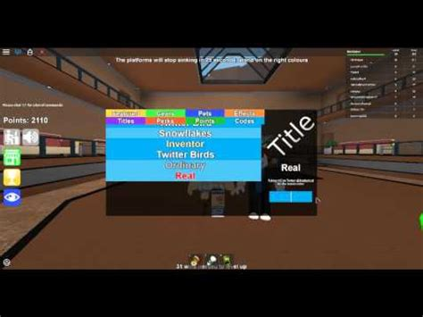 roblox code   real title epic minigames youtube