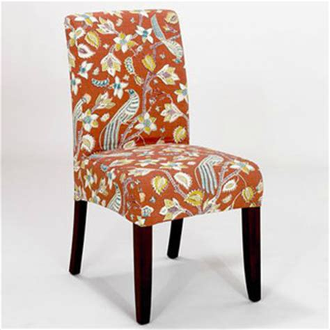 paprika birds short anna slipcover chair collection