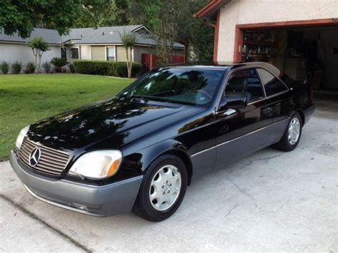 $46,750 1995 mercedes benz s600. Sell used 1995 Mercedes-Benz S600 Base Coupe 2-Door 6.0L ...