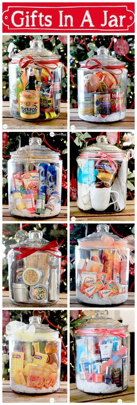 gifts   jar simple inexpensive  fun jars