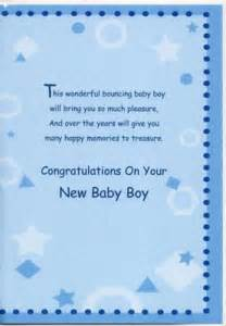 New Baby Boy Greeting Messages