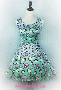Oracle Skater Dress Pastel Goth Clothing Fairy Kei Pastel