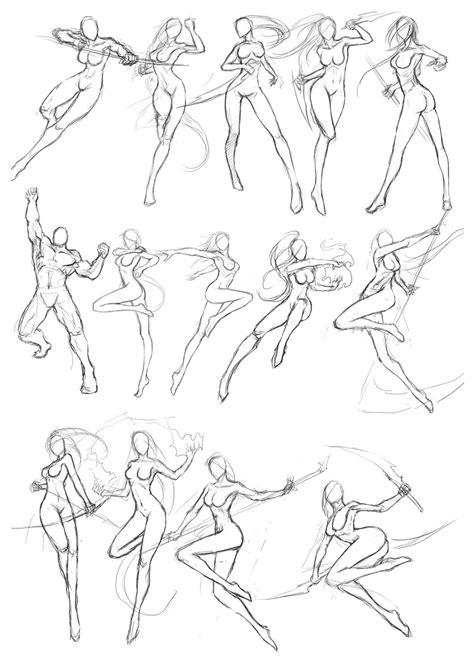 martial arts posture pozi sketchi   drawings