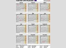 2018 Calendar Nsw School Holidays November Calendar
