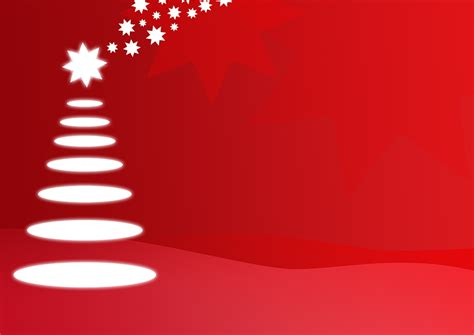 abstract christmas tree  red background high resolution