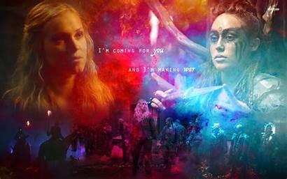 Lexa Clarke Clexa Background Wallpapers Fanpop Cw