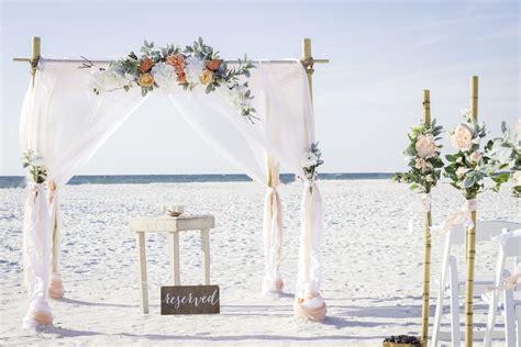 clearwater beach wedding tide  knot beach weddings