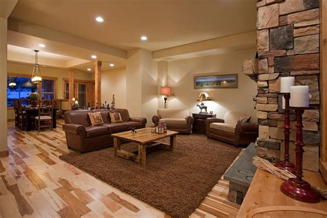 Western Ranch  Traditional  Living Room  Portland  By