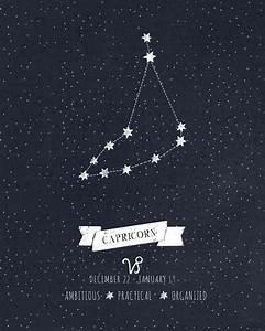 17 meilleures idées à propos de Capricorn Constellation ...