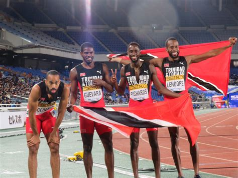 Cedenio Guarantees World Relay Gold For Tt
