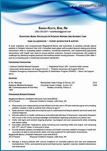 Professional new grad rn resume sample for Sample resume for nurses newly graduated