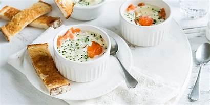 Egg Breakfast Bed Mother Mum Creamy Recipe