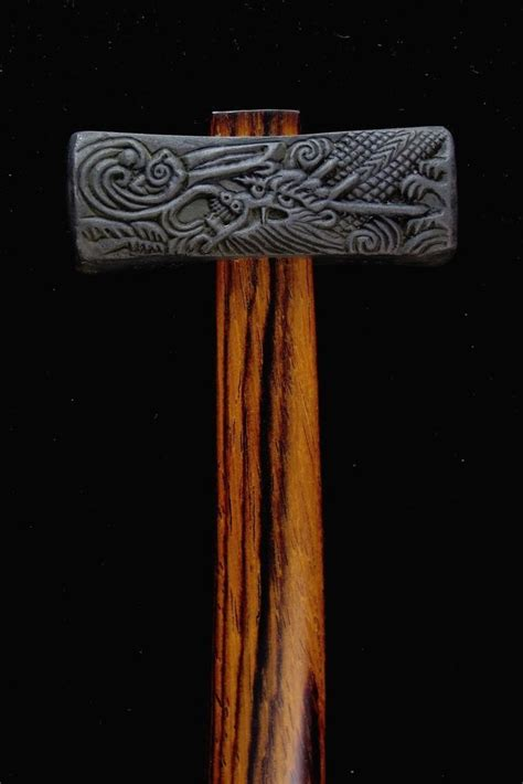 dragon tiger hammer steel japanese tools antique tools