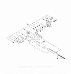 Shindaiwa S4000 Parts Diagram For Throttle Grip