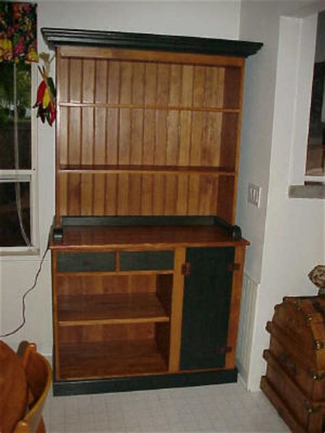 wood bakers rack plans blueprints  diy
