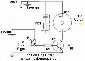 diy homemade ignition coil driver rmcybernetics With with an auto ignition coil and a simple electronic circuit